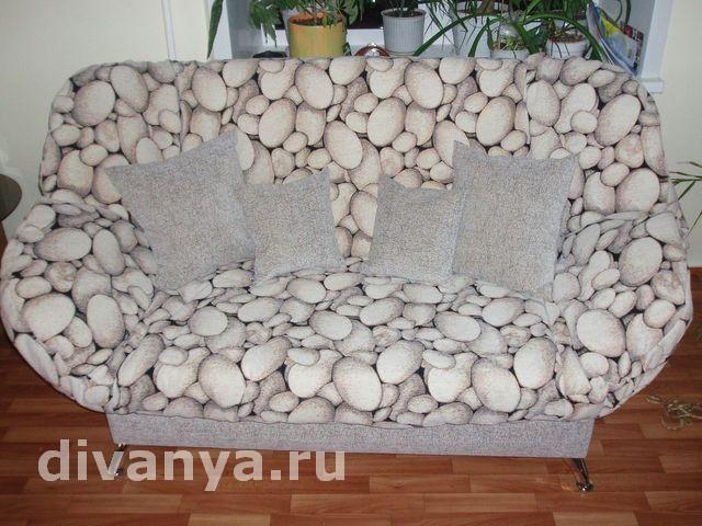 Мягкий диван клик-кляк Бриз Кусмал
